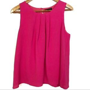 Papermoon for Stitch Fix Pink Sleeveless Blouse